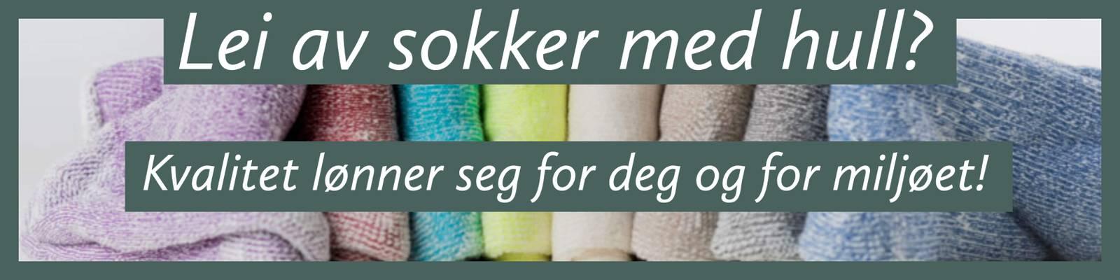 ullsokker bomullsokker kvalitets-sokker merinoull sokker slitesterke bærekraftig sokker som ikke strammer